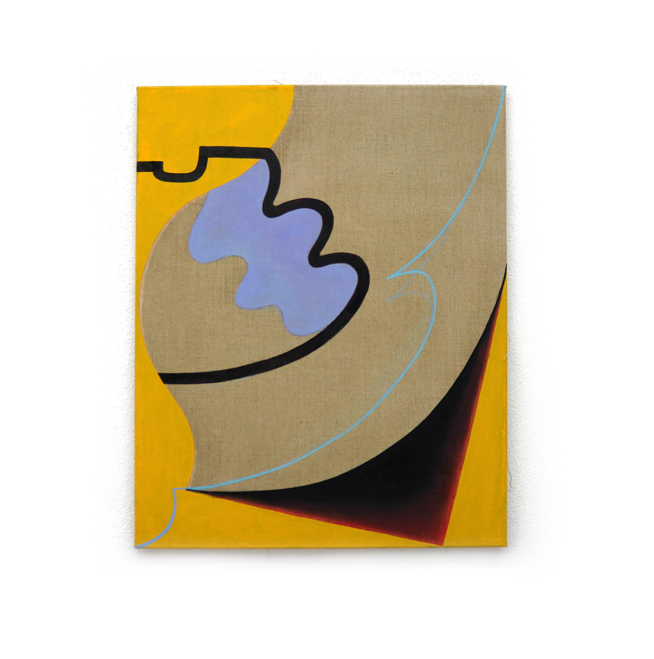 No title, oil on canvas, 75x60cm, 2019