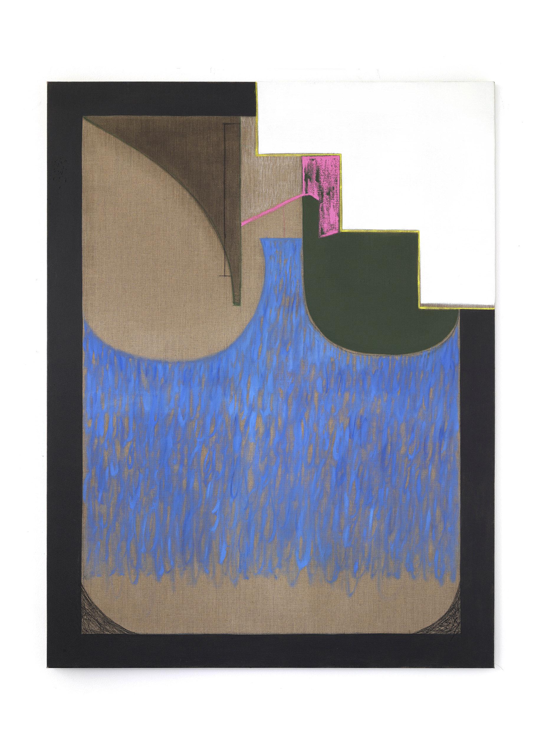 No title, oil,gouache,pastel on canvas,170x130cm, 2019