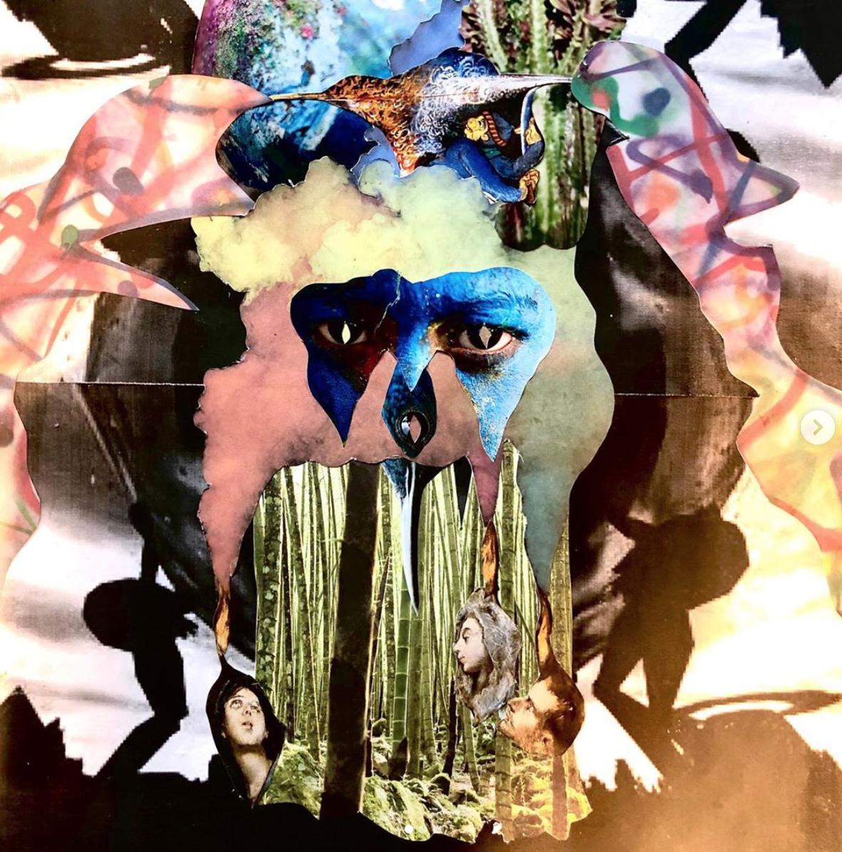 Jonas Rausch, 2020, collage