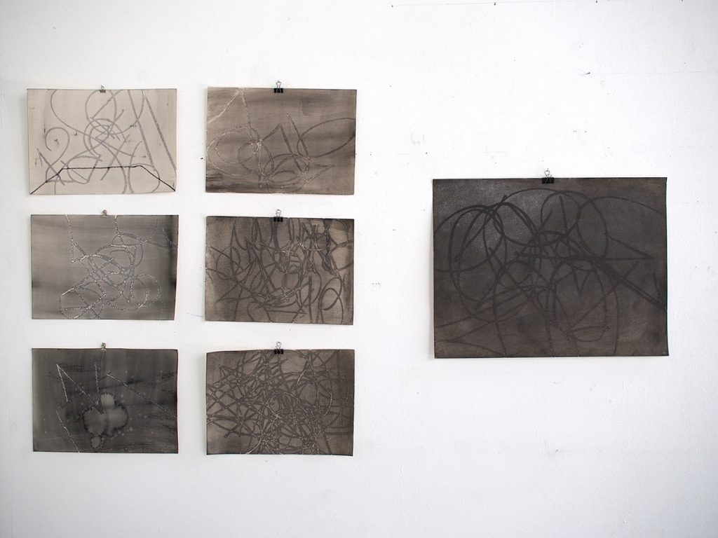 "Mariko Tsunoka, ""III"", Gruppenausstellung mit Nazzarena Poli Maramotti und Yoon Chung Kim, L6, Freiburg"