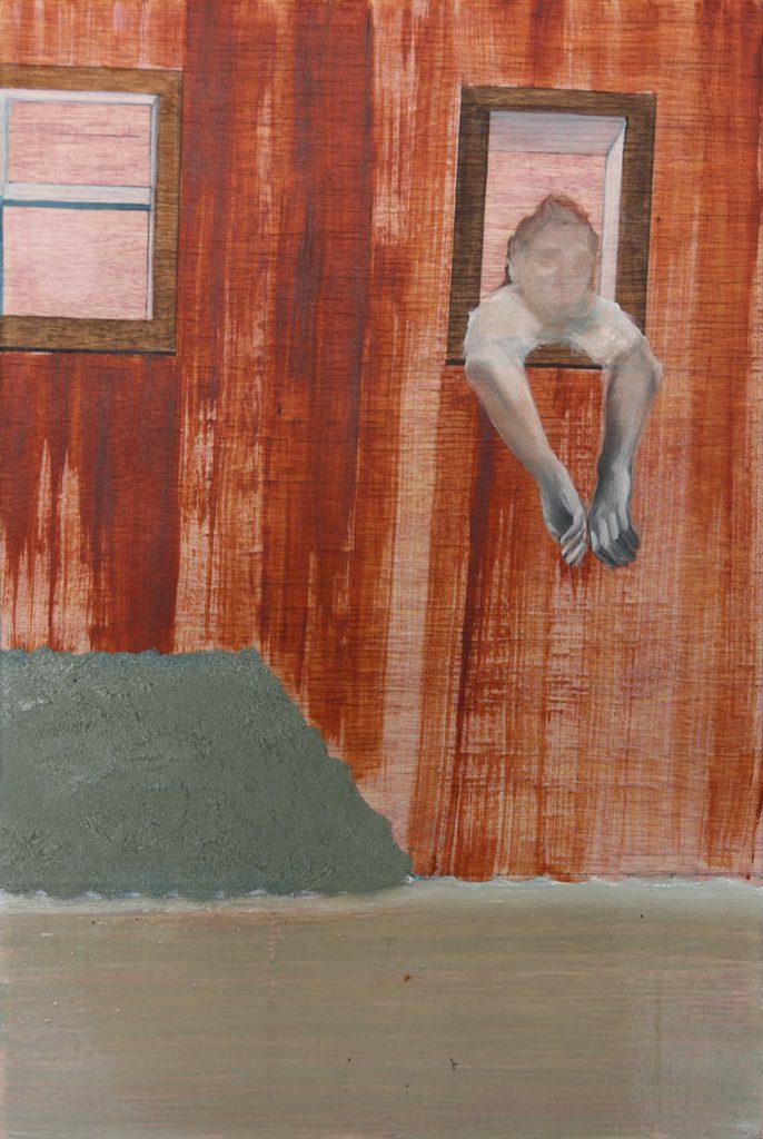 Leonora Prugger | Saudade, 2017, 20x30cm, Ölfarbe auf Holz