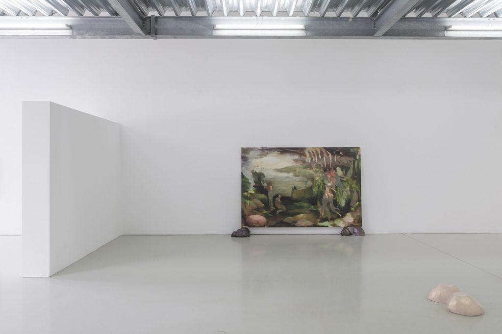Nazzarena Poli-Maramotti, Pictures from the DebütantInnen 2018 exhibition at the Akademie der Bildenden Künste Nürnberg. Photo credits Masiar Pasquali
