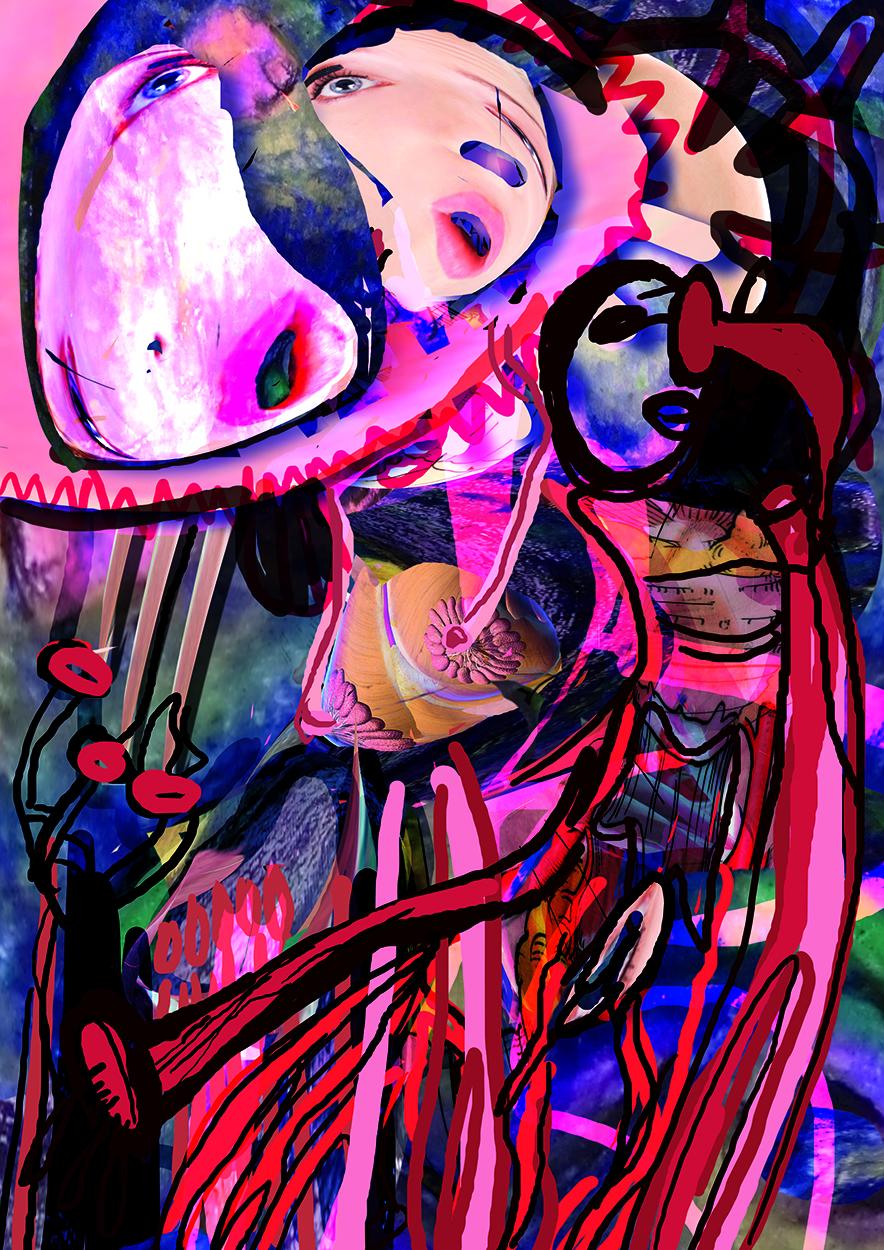 VOID Storytime, 2020, digitale Malerei